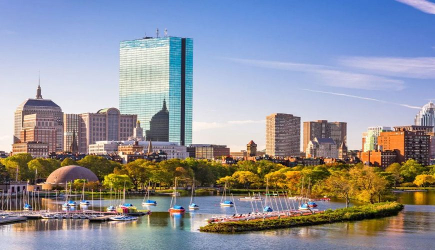 Panoramic View of Boston-Remarkable USA Tour Package