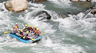 Top 5 White Water Rafting in Nepal
