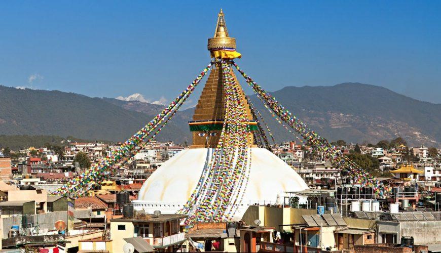View of Bodhnath Stupa, One of the Beautiful Buddhist Stupas in the World, Kathmandu_Kathmandu Chitwan and Pokhara Tour